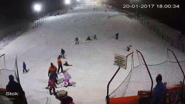 Stok narciarski Szczęśliwice - Warszawa